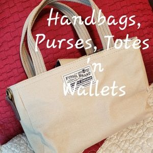 Purses, wallets and bags
